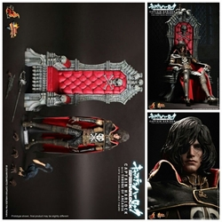 Picture of Hot toys captain harlock with throne of arcadia