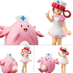 Picture of G.E.M Pokemon - Joy and Chansey Figure Set