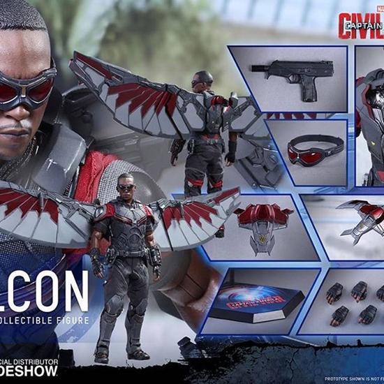 Picture of Hot Toys - Captain America Civil War - Falcon