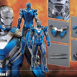 Picture of Hot Toys - Ironman Mark 30 Blue Steel (Exclusive)