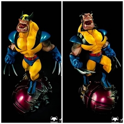Picture of Toylaxy fury Number 1 Statue Wolverine Resin Limited Edition (Limited only 522)