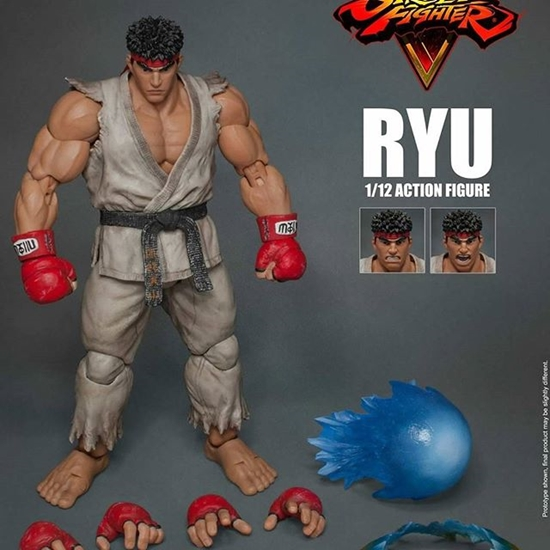 Picture of Street Fighter V Ryu Action Figure