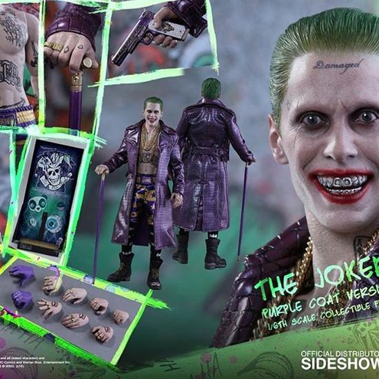 Picture of Hot Toys - Suicide Squad - Joker Purple Coat Version