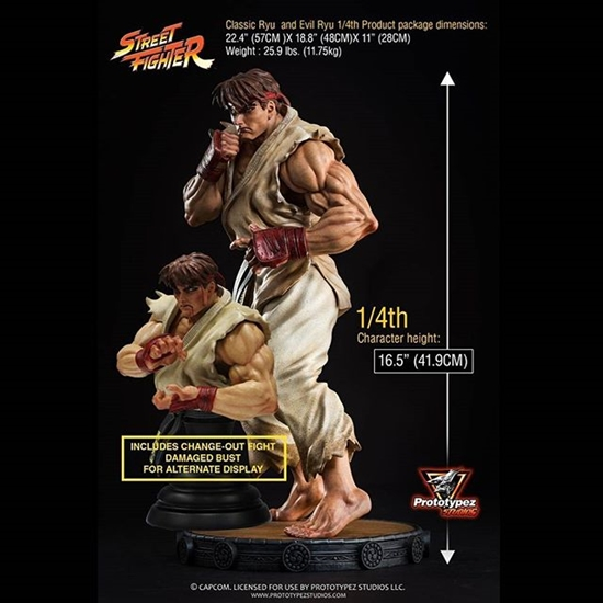 Picture of Prototypez Studio Street Fighter Ryu 1/4 Statue (Limited to 400)