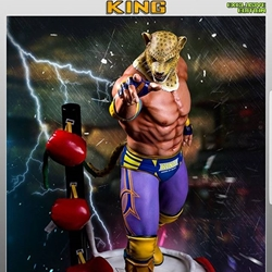 Picture of F4f tekken 5 king exclusive limited edition statue