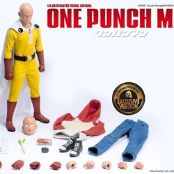 Picture of Threezero one punch man exclusive 1/6 action figure