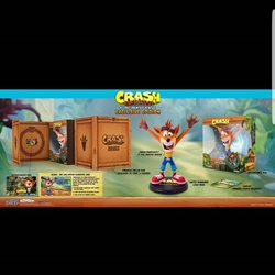 Picture of First 4 figures Crash Bandicoot PVC Painted Statue