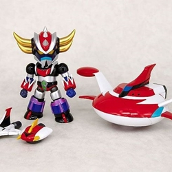 Picture of Fewture es gokin grendizer alloy action figure with spazers and light feature