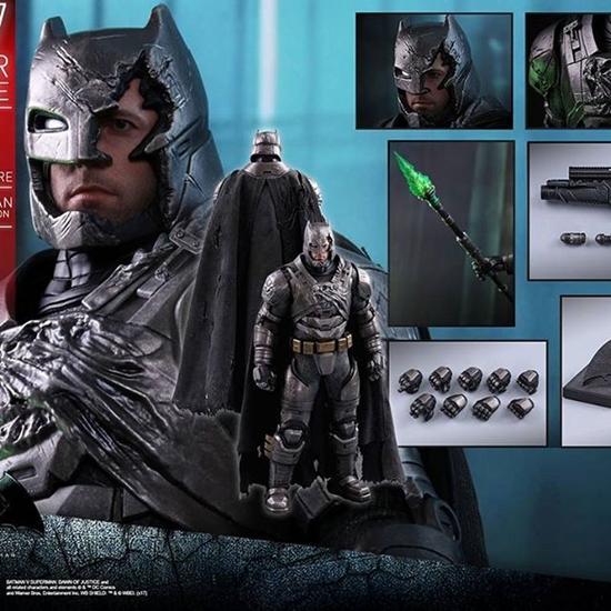 Picture of Hot toys toy fair exclusive 2017 Batman vs superman Armored batman battle damage version