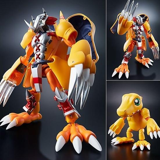 Picture of Digivolving Spirits 01 WarGreymon Kanzen Henkei Figure Digimon Adventure