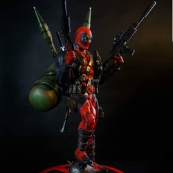 Picture of Deadpool - The one man army - Limited Edition Custom Statue