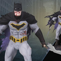 Picture of Dc collectibles metal batman statue greg capullo 12 inches