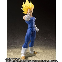 Picture of S h figuarts majin vegeta limited edition action figure